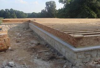 Home Foundation in Progress